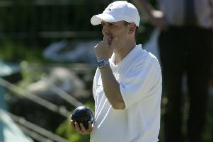 Lower Hopton bowler Graeme Wilson will pair up with teammate Robert Hitchen on the opening night of the Mirfield Autumn Doubles bowls competition.