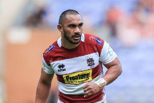 Thomas Leuluai is on Wigan's overseas quota... but has been removed from the Not Federation Trained list