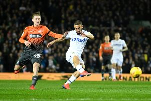 Leeds United striker Kemar Roofe is wanted by Burnley.