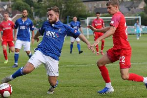Charlie Wakefield, right, has had a turbulent few years at the Proact but seems to have had new life breathed into his Town career
