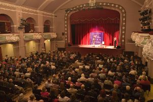 King's Hall in Ilkley is one of the festival venues