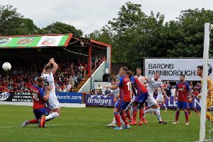 A penalty sealed victory at Aldershot but there's no time for Fylde to rest on laurels