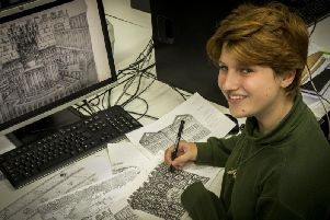 UCLan student Beth Joy's animated film is being shown at the Manchester Histories Festival