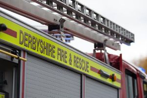 Derbyshire Fire and Rescue Service is training at Chesterfield College's Infirmary Road site.