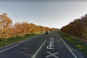 The single-lane sections of the A582 could be turned into a dual carriageway (image: Google Streetview)