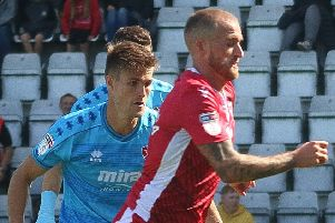 Lewis Alessandra scored for the Shrimps
