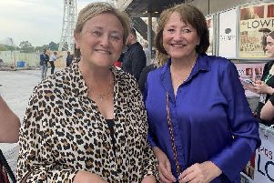 Elizabeth Costello (right) and her sister Kathleen McNulty