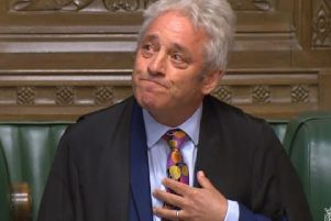 John Bercow paid tribute to his familiy after announcing that he is stepping down as Speaker.