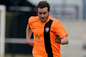 Steve Woolley - one of the trio of players placed in temporary charge of Worksop Town.