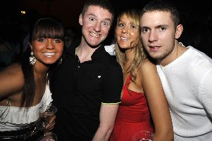 On the town in Wigan in 2010
