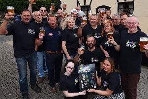 Members of Wigan CAMRA are organising a 11-day celebration of music, art, food and beer, to coincide with National Cask Ale Week, pictured at the launch at The Royal Oak pub
