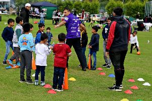 Youngsters could try their hand at cricket.