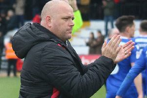 Jim Bentley applauded Morecambe fans despite being booed at full-time on Tuesday
