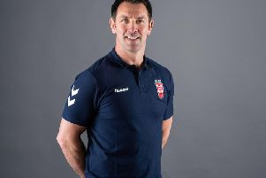 England pathways coach Paul Sculthorpe. Picture: SWpix