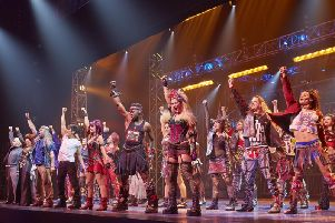 A scene from the hit musical We Will Rock You that is heading to Yorkshire.