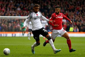 Tiago Silva (right) was in great form against Derby.