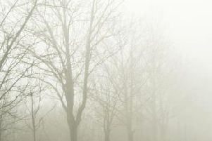 Foggy weather in Nottinghamshire is expected to clear.