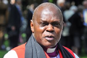 INSPIRING: Dr John Sentamu has been the Archbishop of York since 2005. PIC: Gary Longbottom