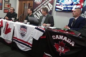 Today's USA v Canada press briefing