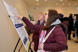 Public exhibition on the plans for the Priory Shopping Centre