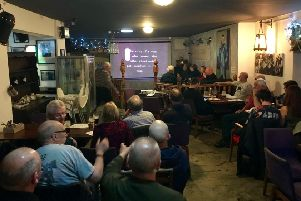 A promising turnout for the inaugural meeting of the 'Beau Chumps Tent of Sunderland'.