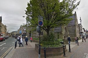 Police in Harrogate are appealing over an alleged assault outside St Peters Church.