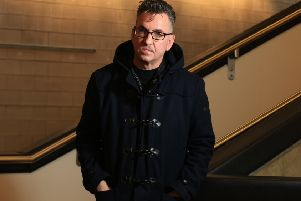 Standing at the Sky's Edge launch at the Crucible Theatre in Sheffield. Pictured is Richard Hawley. Picture: Chris Etchells