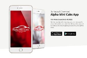 Free new taxi booking app from Doncaster Alpha Mini Cabs