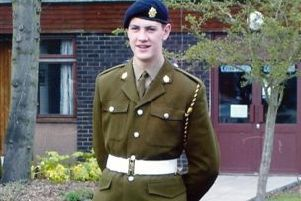 rossparry.co.uk/syndication/Mansfield Chad'Picture shows Private Lee Bonsall Private 24 yrs who was found hanged after suffering from post traumhasatic stress, The Afganistan war veteran died just a week after private Private Ashley Clarkson 23 yrs was also found hanged suffering the same condition and both from the same town Mansfield Nottinghamshire