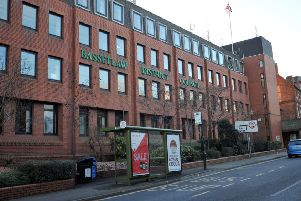 Bassetlaw District Council's headquarters at the Queens Buildings, Potter Street, Worksop.