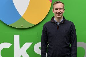 Ryan Jessop, of Worksop, who was named best future innovator in the awards scheme.