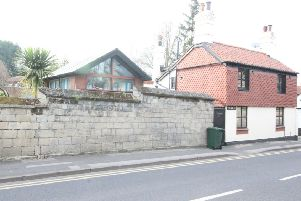 The property is on Park Street in Worksop