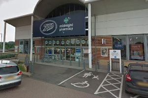 Boots, on St Peter's Retail Park