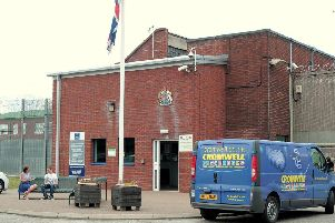 Ranby Prison, where the number of self-harm incidents has reached a record high.