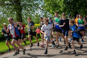 Charity fun run