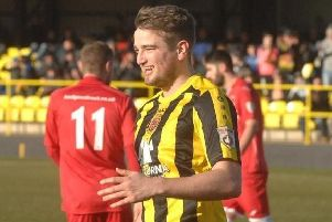 Andy Gascoigne became an instant fans' favourite at Harrogate Town