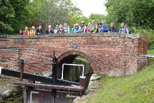 Chesterfield Canal Walking Festival.