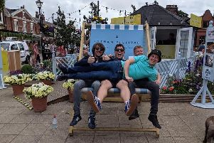 Parka Monkeys, who recently played at Lytham Festival, return to Preston on Saturday