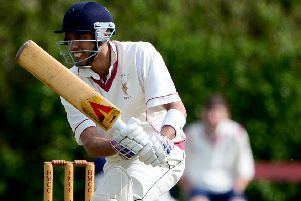 Naseer Saudagar hit 41 as he shared a 141-run partnership with Deron Greaves and then went on to claim 3-42 but it wasn't enough to prevent Mirfield losing to Upperthong.