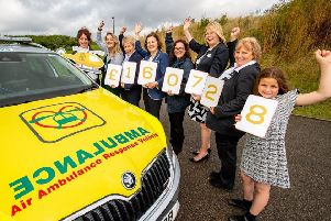 Lincolnshire Co-op has donated more than �160,000 to the Air Ambulance. Photo: John Aron