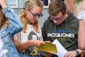 St John Rigby Students get their results