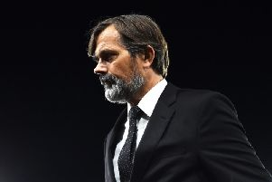 Derby County head coach Phillip Cocu. (Getty)