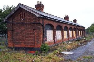 Warsop station, on Mansfield Road.