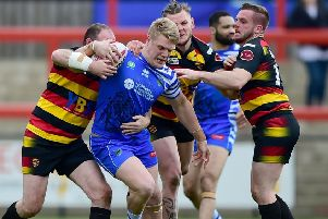 Dan Fleming: His try for Halifax was little consolation in their defeat to Toulouse.