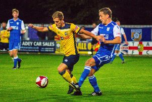 Tadcaster Albion were 4-0 victors over Frickley Athletic in midweek. Picture: Matthew Appleby