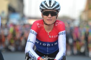 Tom Pidcock at Otley Town Cycle Races. (Picture: Tony Johnson)