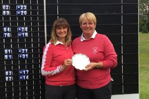 Wakefield's Betty Sworowski and Julie Wheeldon scored a two-shot win when they teamed up for the first time in the Brenda King Foursomes at Brough.