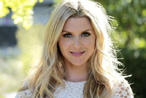 TV presenter Anna Williamson is supporting World Mental Health Day