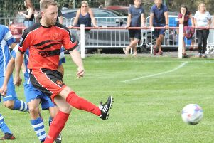 Tom Entwistle scored both of Garstang's goals at the weekend