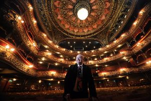 General Manager Ian Sime pictured at the Grand Theatre, Leeds.